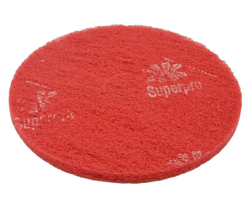 Disco de Limpeza Vermelho 350 mm Bettanin Para Enceradeira Industrial