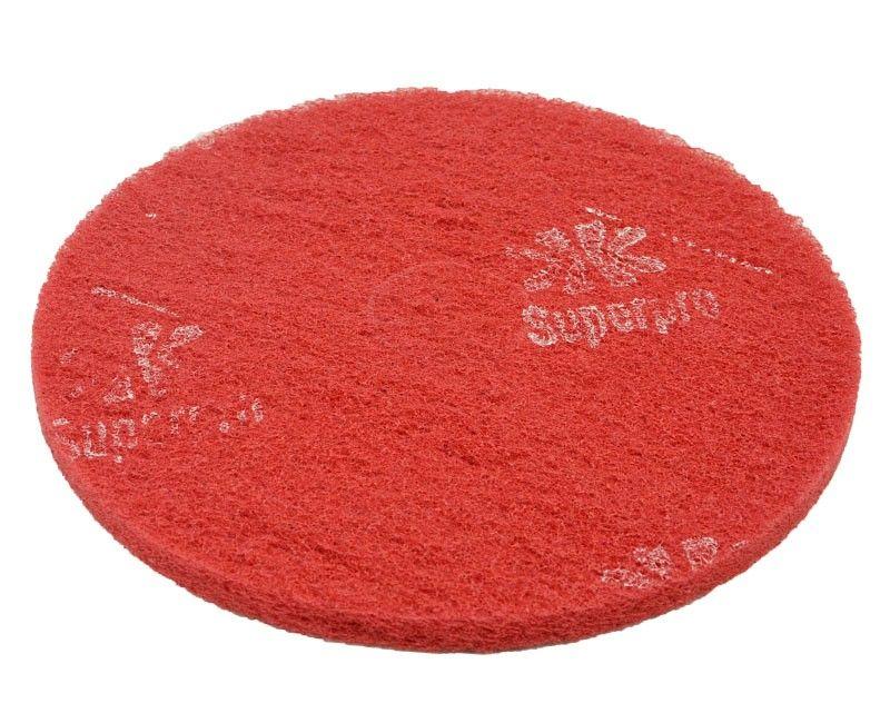 Disco de Limpeza Vermelho 410 mm Bettanin Para Enceradeira Industrial