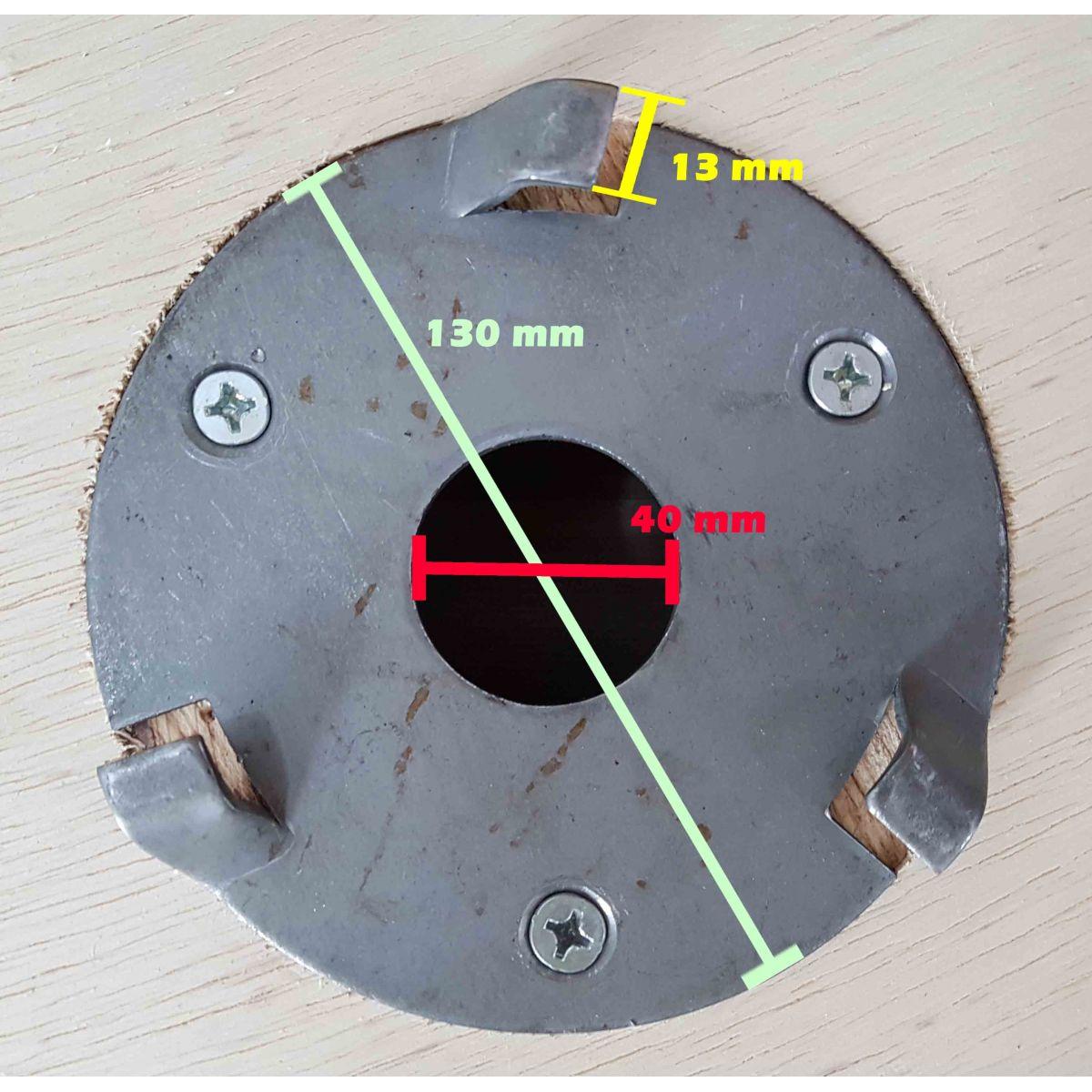 Escova de PELO 300 mm COM Flange Para Enceradeira CLEANER. Allclean e Bandeirantes Entre Outras