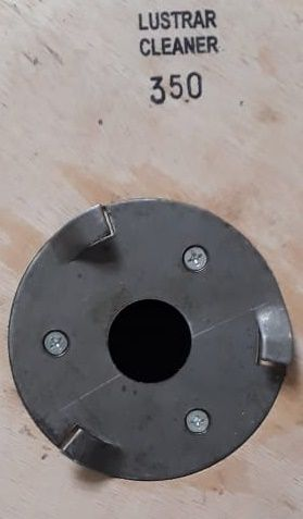 Escova de PELO 350 mm COM Flange Para Enceradeira CLEANER. Allclean e Bandeirantes Entre Outras