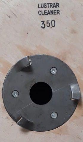 Escova de PELO 510 mm COM Flange Para Enceradeira CLEANER. Allclean e Bandeirantes Entre Outras