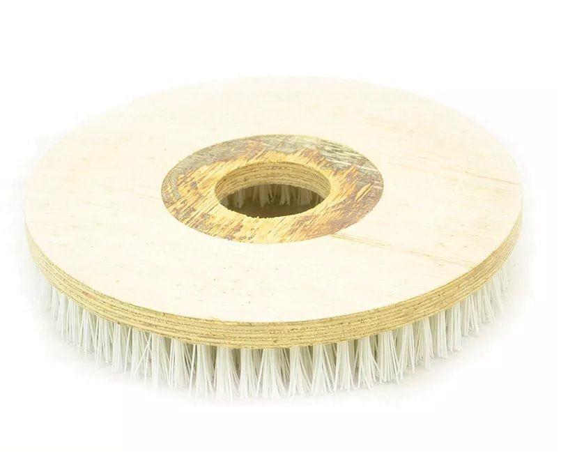 Escova de Pelo 350 mm SEM Flange Para Enceradeira CLEANER. Allclean e Bandeirantes Entre Outras
