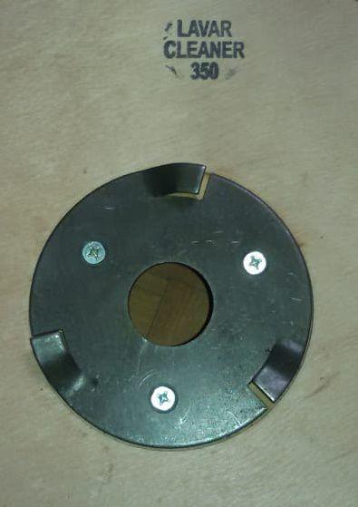Escova NYLON 300 mm COM Flange Para Enceradeiras CLEANER. Allclean e Bandeirantes Entre Outras