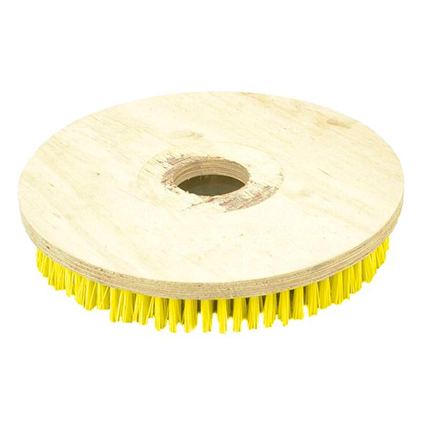 Escova NYLON 350 mm SEM Flange Para Enceradeiras CLEANER. Allclean e Bandeirantes Entre Outras