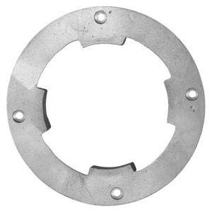 Escova NYLON 510 mm COM Flange Para Enceradeiras CERTEC, Mebal e Lemarte Entre Outras