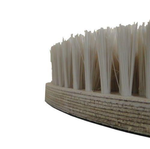 Escova NYLON 350 mm SEM Flange Para Enceradeiras CERTEC. Mebal e Lemarte Entre Outras