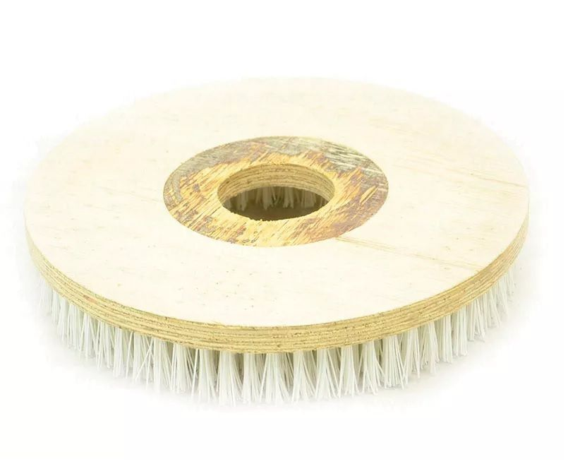 Escova Para CARPETES E TAPETES 350 mm SEM Flange Para Enceradeiras CLEANER. Allclean e Bandeirantes Entre Outras