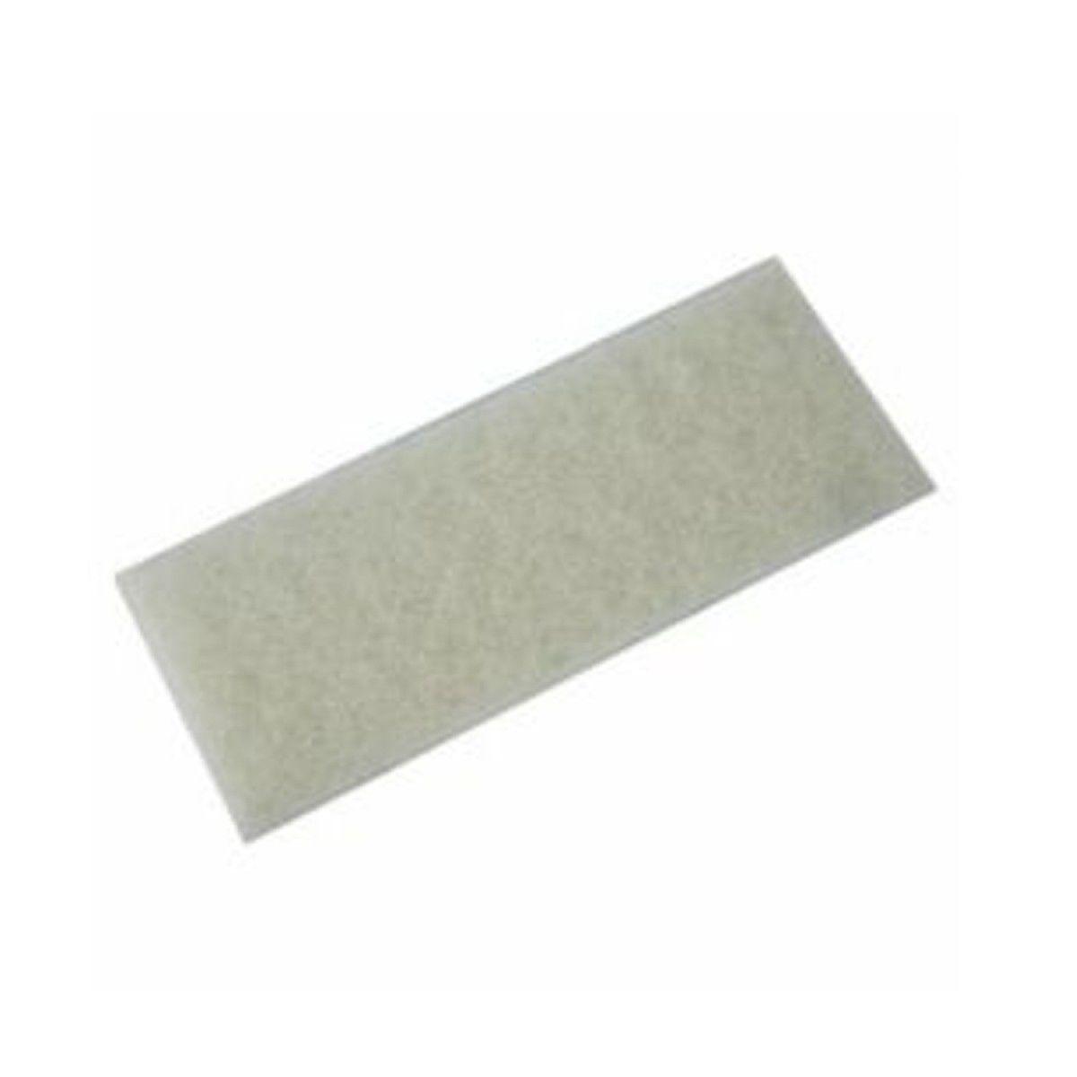 PACOTE Com 10 Fibra de Limpeza Macia Branca Para Suporte LT 10x26 cm