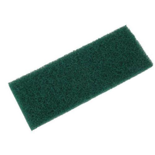 PACOTE COM 10 Fibra de Limpeza Pesada Verde Para Suporte LT 10x26 cm