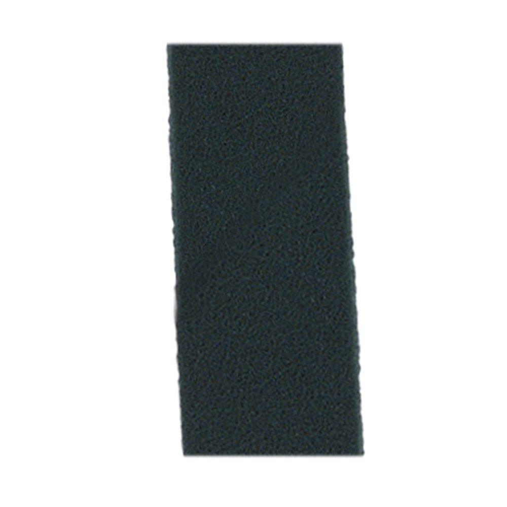 CONJUNTO COM 10 Fibra de Limpeza Verde Para Suporte LT 10x26 cm