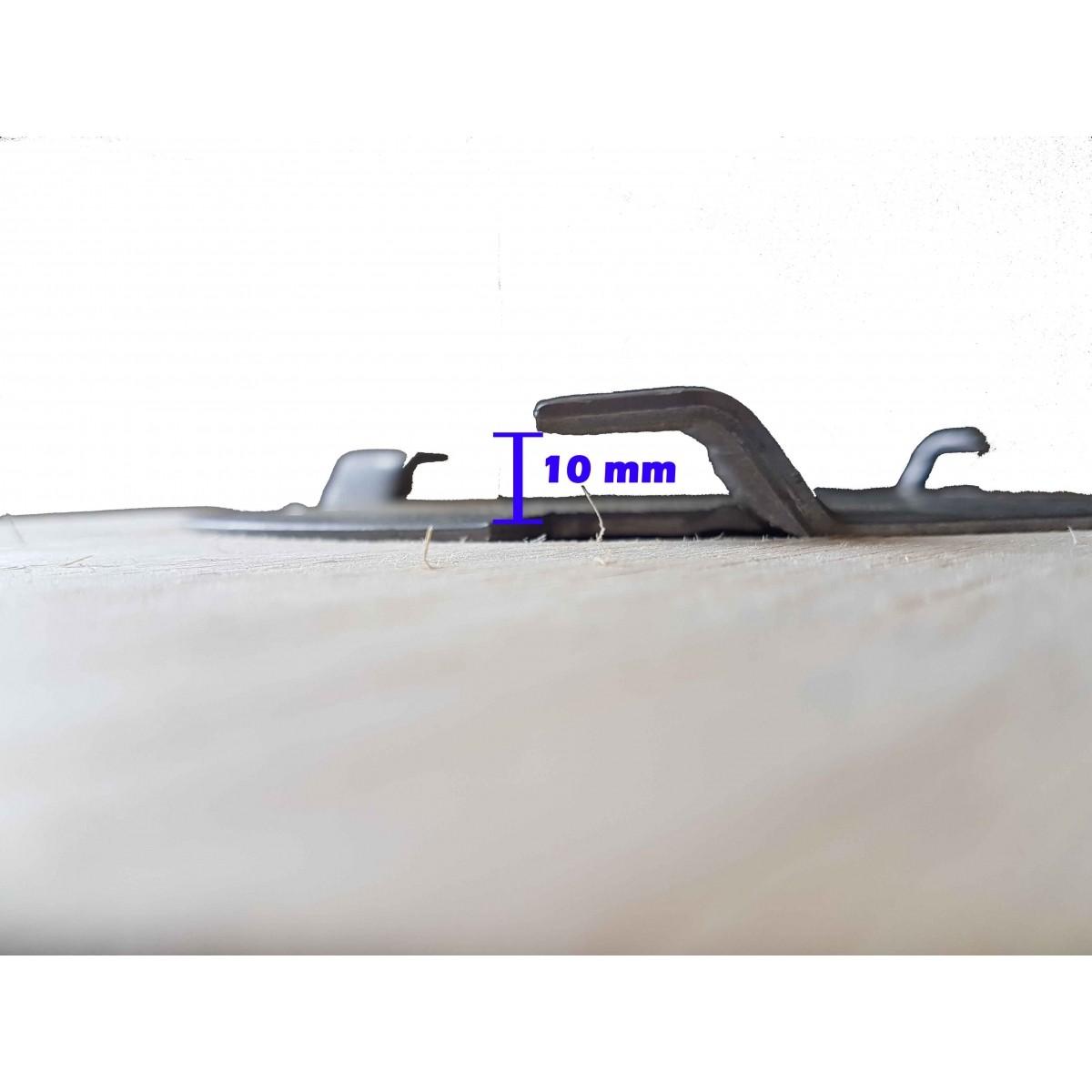 FLANGE PARA Escova Para Enceradeiras Cleaner, Alclean, Bandeirantes Entre Outras Para 410 a 510 mm