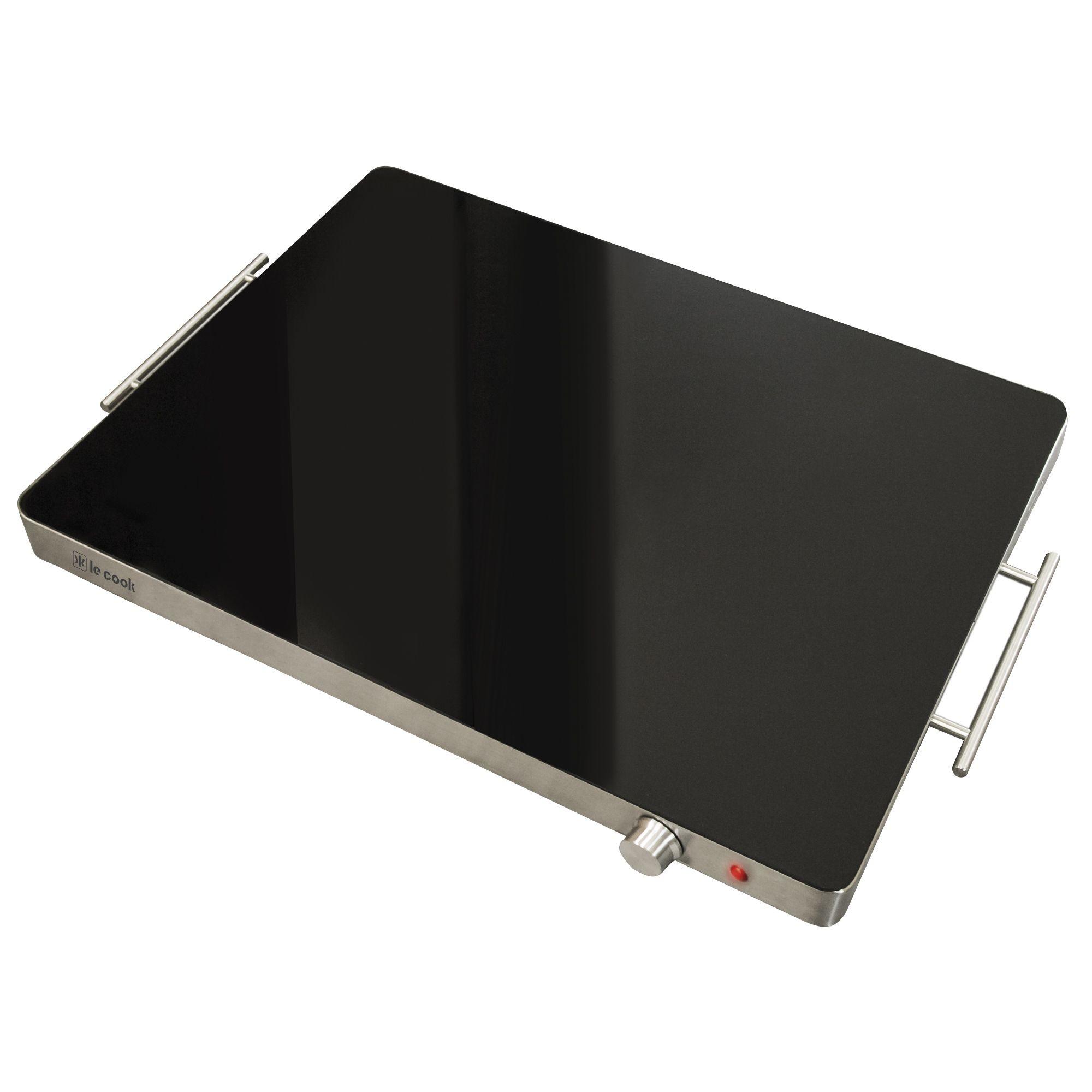MESA TÉRMICA LE COOK 400 Watts Tampo de Vidro Temperado 60X41X5,7 Cm Modelo LC1705 - 220 Volts