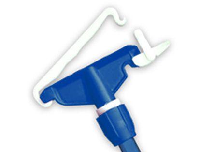 Pinça Mop Haste Euro em Plástico para Mop Líquido Azul PACOTE COM 3 Bralimpia