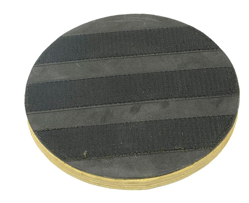 Suporte Fixador Com Velcro Para Discos de Limpeza e Polimento COM Flange 270 mm Para Enceradeiras CLEANER, Allclean, Bandeirantes Entre Outras