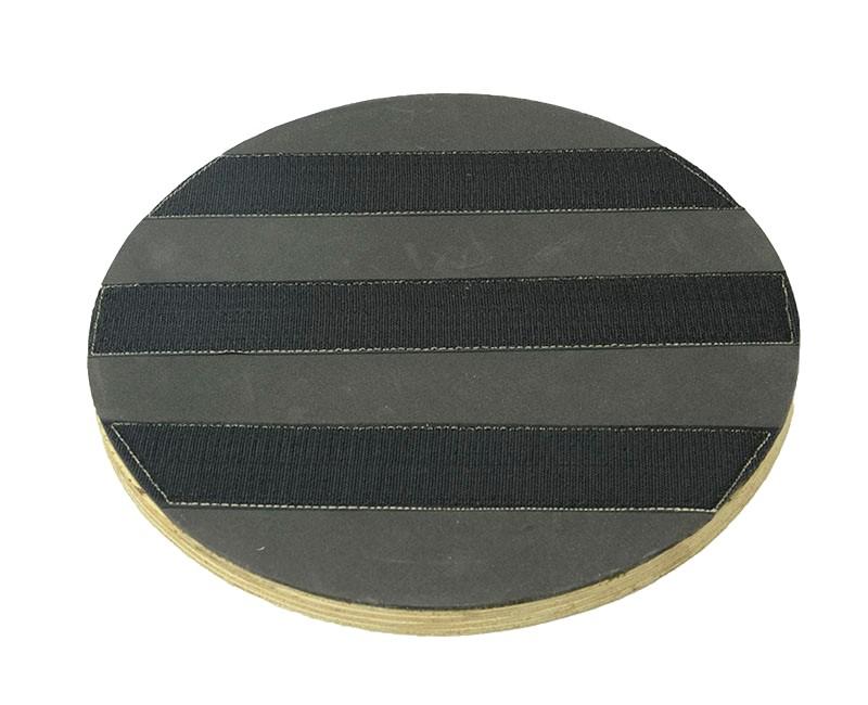 Suporte Para Disco de Limpeza e Polimento Com VELCRO Com FLANGE 350 mm Para Enceradeira CERTEC, Mebal, Green Line e Lemarte Entre Outras