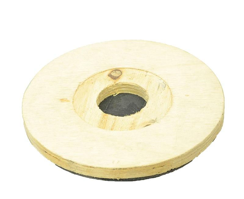 Suporte para disco de limpeza com velcro SEM flange 270 mm para enceradeira CLEANER