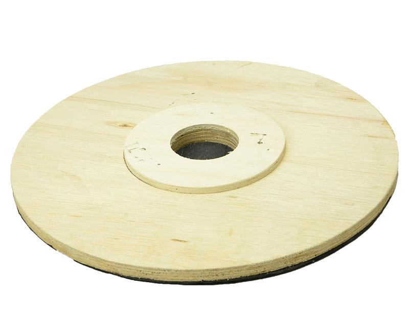Suporte Para Disco de Limpeza Com Velcro SEM Flange 510 mm Para Enceradeira CLEANER, ALLCLEAN Entre Outras