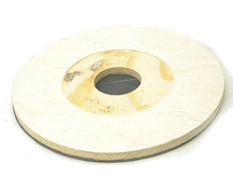 Suporte para disco de limpeza com velcro SEM flange 410 mm para enceradeira CLEANER