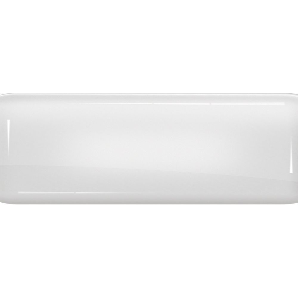 Toalha de Mesa Plástica Térmica 1,38X1,38 Metros Estampa Brilho Branco