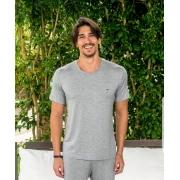 Camiseta 902 Visco Decote V Masc.