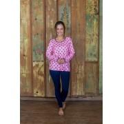 Pijama 205128 New Soft E Visco Decote Careca