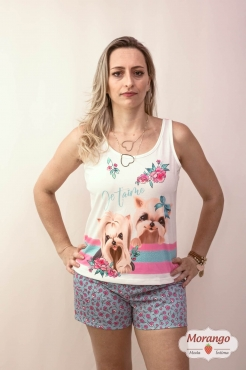 Pijama 3755 Regata Cachorro