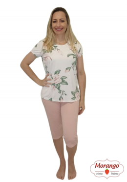 Pijama 6523 Pescador Floral
