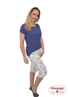 Pijama 6524 Pescador CalÇa Floral