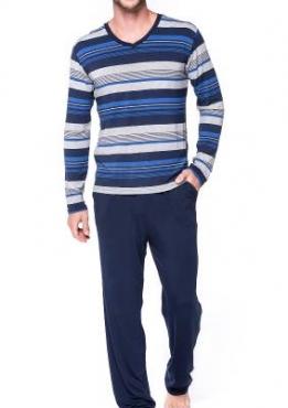 Pijama 8168 Manga Longa E Calça
