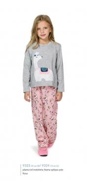 Pijama 9323/9324 Inf/juv Lhama Mae E Filha (lua Cheia)