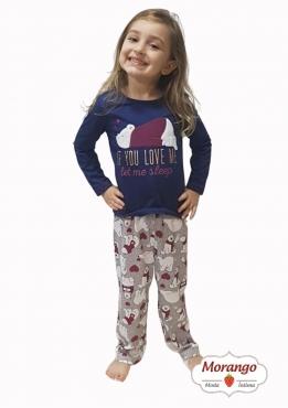 Pijama 9608/9609 Inf/juv Mae E Filha
