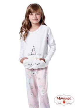 Pijama 9621/9622 Inf/juv Mae E Filha Unicornio