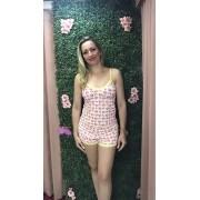 Short Doll 0217 / 24121/27712/34279 Caixa Estampa Diversos