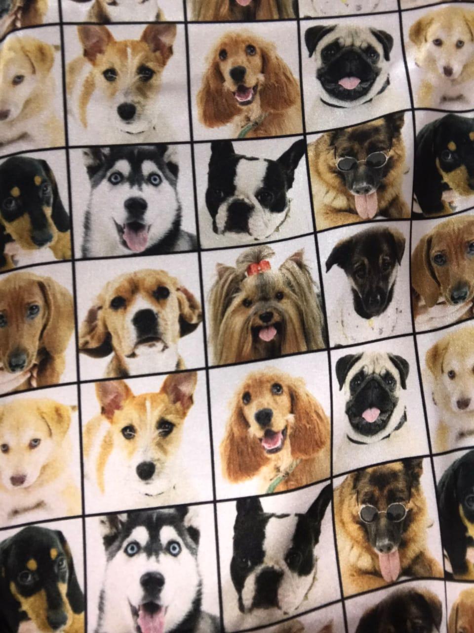 Camisetao 5827 Cachorro ( Lua Cheia)
