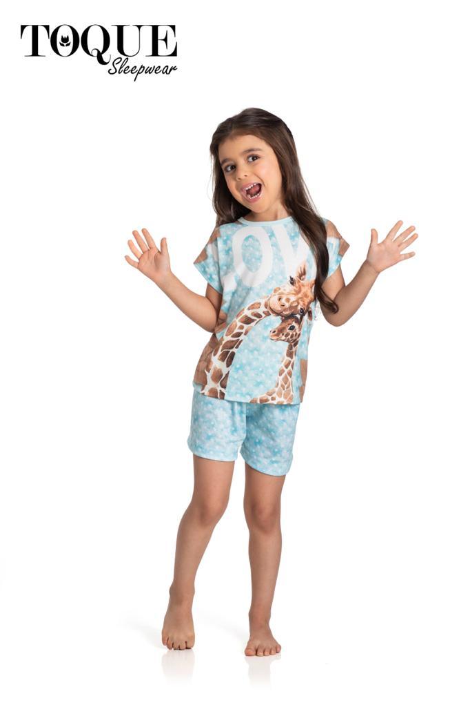 Pijama 1020 Girafa Mae E Filha