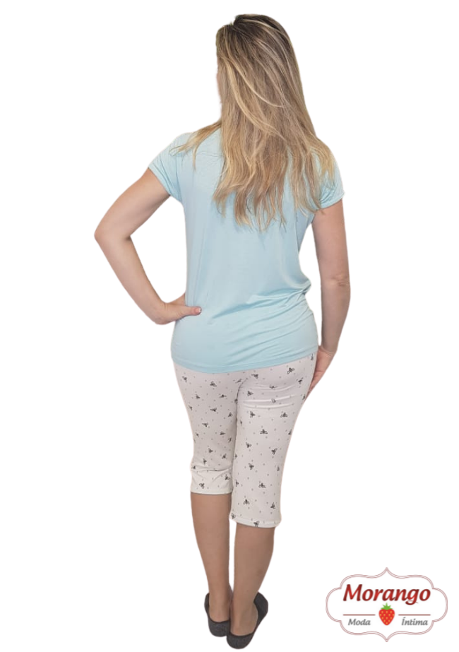 Pijama 6526 Pescador Abelha
