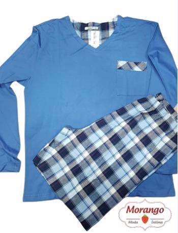 Pijama 8142 Flanela/malha