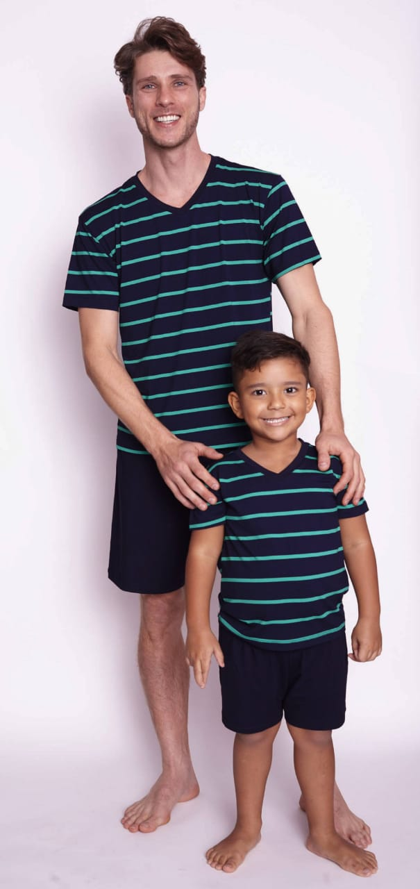 Pijama 860 Inf/juv Familia Visco Verao