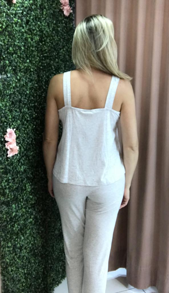 Pijama 9370 Casaquinho Listra