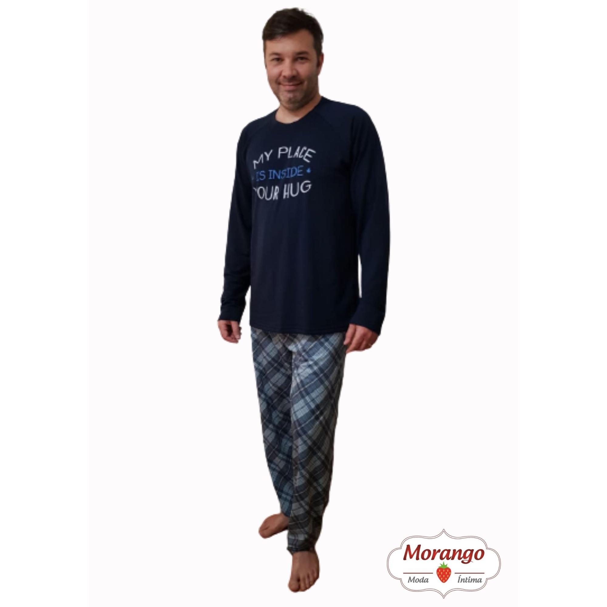 Pijama 2002 Silk E CalÇa Xadrez