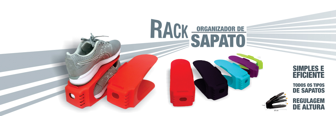 racks para sapato! aproveite