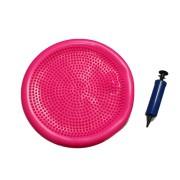 Balance Disc Disco Equilíbrio Inflável C/ Bomba Rosa