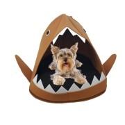 Cama Caminha Pet Dog Portátil Viagem Cães Pequenos Marrom