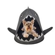 Cama Caminha Pet Dog Portátil Viagem Cães Pequenos Preto