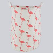 Cesto Organizador Multiuso Grande com Sustentação- Flamingo (Rosa)