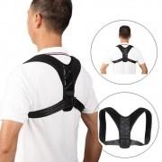Colete para Postura Ajustável Energizing Posture - Preto