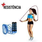 Corda De Pular Crossfit Rope Jump Rope Funcional Fit Azul