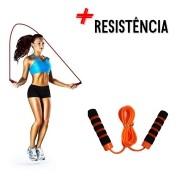 Corda De Pular Crossfit Rope Jump Rope Funcional Fit Laranja