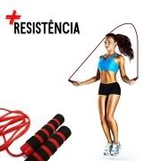 Corda De Pular Crossfit RopeJump Rope Funcional Fit Vermelho