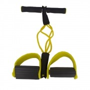 Elástico Malhar Extensor Academia Treino Pilates Fit Amarelo